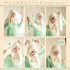 Latest Hijab Style Trends & Tutorial 2015-2016 with Pictures For Girls | GalStyles.com
