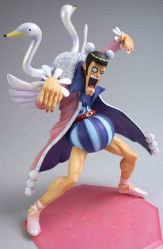 Pirates : One Piece Mr. 2 Bon Clay Imported from Japan! Made by MegaHouse! New official Megahouse product, figure measures approx tall and One Piece Theme, One Piece Pop, Model One, Figure Model, Clay Figures, Action Figures, One Piece Figuras, Figurine One Piece, Action Figure One Piece