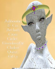 Ashbourne & Co. Circlet, Chokers, London, Gifts, Fictional Characters, Art, Art Background, Presents, Kunst