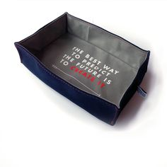 Owen /& Fred Predict the Future Accessories Tray Navy