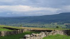 View of Wensleydale from Redmire in the Richmondshire District of the Dales.
