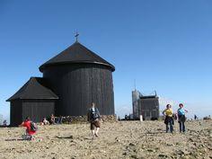 Kaplica i poczta czeska na Śnieżce
