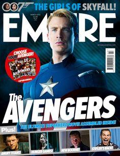 Marvel's The Avengers - Empire Magazine Cover (March 2012)   #CaptainAmerica   #Marvel