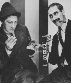 Chico and Groucho Marx
