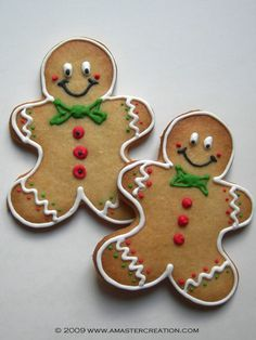 The Purple Pumpkin Blog: 8 Gingerbread Men Decorating Ideas