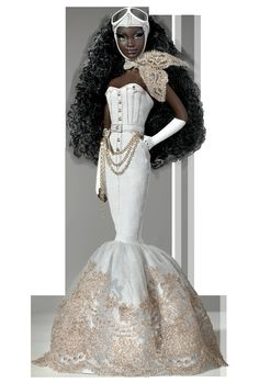 black barbies | barbie-black-barbie-black-doll-byron-charmaine-collector-Favim.com ...