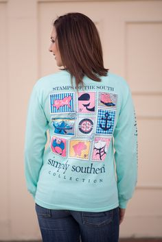 Simply Southern Long Sleeve Stamp Tee❤️❤️❤️
