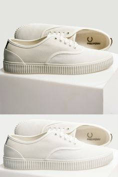 2c1177eee7c03 A Fred Perry favourite 🙌🏼. Soletrader Shoes · Crisp White Kicks