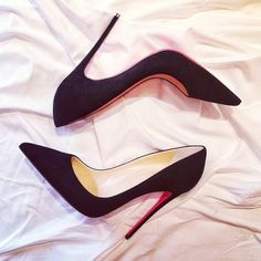 i need basic black #pumps. why not #louboutins?!