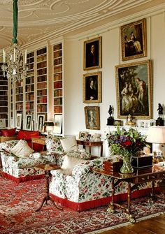 Althorp House library