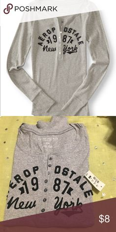 New aero top New with tags Aeropostale Tops Tees - Long Sleeve