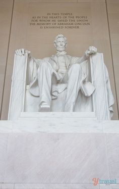 Abraham Lincoln Memorial, Washingto DC, USA