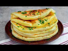 Nejnadýchanější koláče se sýrem! Připravíte je snadno na pánvi a rychle zmizí!| Chutný TV - YouTube Breakfast Recipes, Dessert Recipes, Serbian Recipes, Good Food, Yummy Food, Bread And Pastries, Healthy Eating Recipes, Empanadas, Cheese Recipes