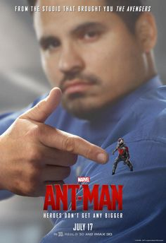 "marvelentertainment:  Check out 7 new character posters, plus a new TV spot for Marvel's ""Ant-Man,"" in theaters July 17th!"