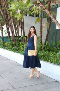 Tea Length ~ New on BisousBrittany.com #Miami #Fashionblog #Fashionblogger #fashion