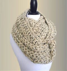 Keep warm when you wrap up with this wool blend extra wide and long infinity scarf cowl. Cowl Scarf, Knit Cowl, Knit Crochet, Chunky Infinity Scarves, Beautiful Handbags, Keep Warm, Handmade Shop, Womens Scarves, Scarfs
