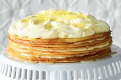 Lemon shortcake by Kathy Knudsen
