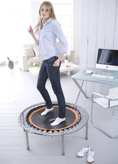 Use your bellicon rebounder at your office