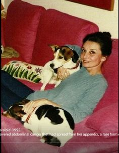 Switzerland (1992). Audrey has just undergone a myriad of tests and knows that the cancer of the abdomen is spreading. She will die on January 20th, 1993.