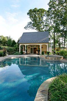 Ely Farm Lane traditional-pool