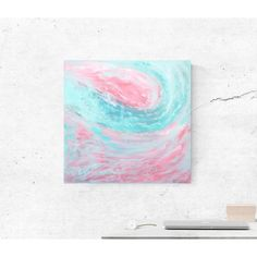 ABSTRACT WAVES CANVAS ART (No.2) Acrylic Painting Canvas, Canvas Art, Abstract Waves, Beautiful Ocean, Frame, Artwork, Inspiration, Art Work, Biblical Inspiration