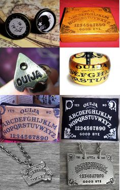 Ouija Boards! Click on the photo to view the entire collection of items!