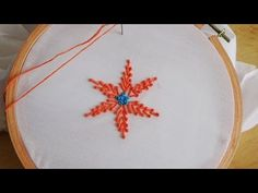 Hand Embroidery: Pollin Stitch - YouTube