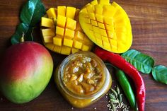 NYT:  Spiced Mango Chutney With Chiles