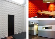 3D Wandpaneele für innovative Wohnungsdekoration