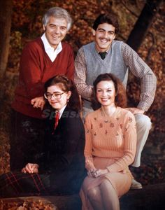 George Clooney with father Nick, Mother Nina & sister Ada