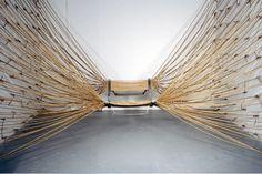 'Rope Chair' by American furniture designer based in Brooklyn, John Truex. via Design Boom