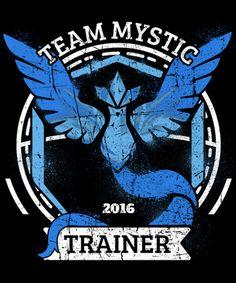 Team Mystic 2016 Pokemon Go graphic tee from Quertee Pokemon Team, Pokemon Go Team Mystic, Pokemon Memes, Mystic Team, Random Pokemon, Gotta Catch Them All, Catch Em All, Funny Tee Shirts, T Shirt