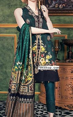 Online Indian and Pakistani dresses, Buy Pakistani shalwar kameez dresses and indian clothing. Shalwar Kameez, Pakistani Dresses, Draping, Beautiful Gowns, Simple Dresses, Indian Outfits, Lawn, Kimono Top, Fashion Dresses