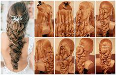 причёски на выпускной на средние волосы в домашних условиях: 12 тыс изображений найдено в Яндекс.Картинках