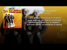 Trio Calaveras - Juan Charrasqueado (con letra - lyrics video)