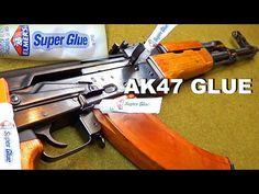 Can you SUPER GLUE an AK47 closed? Torture Test. - YouTube