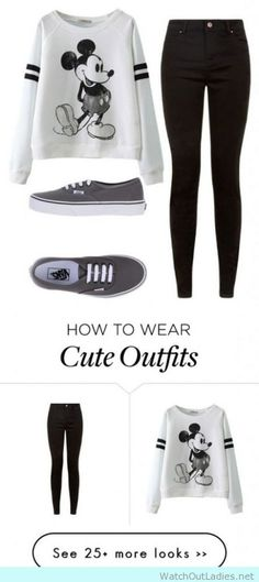 How to wear skinny jeans and vans for school