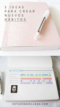 Ideas para cambiar de habitos - Bullet Journal