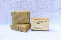 Choose any 4 x 120+/-10g soap:1. Charcoal with  Bentonite Clay - Rosemary