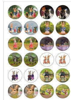 Peter Rabbit Cake Toppers Amazon