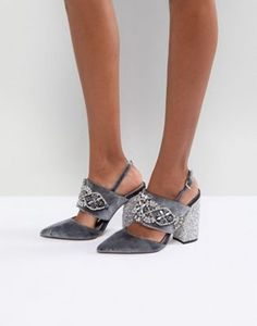 c1cf4f3cd7b Image 1 of ASOS PERFECT COMBO Embellished Heels Holiday Outfits Women