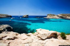 blue lagoon malta Comino Island In Malta Has A Blue Lagoon, And It's Kind Of Heaven