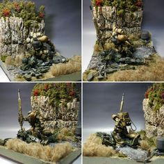 Got another fully detailed diorama which has been appeared couple days ago at modelers-g this is Grenz Situation Diorama by minickm1. A ...