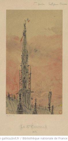 Sainte Chapelle  Auguste Etienne Guillaumot, 1871