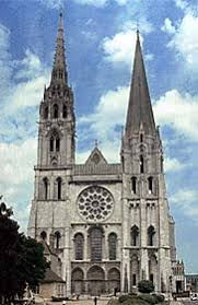 「cathedral of notre dame at chartres」的圖片搜尋結果