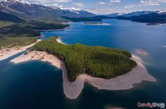 Above Kelly Island on Hungry Horse Reservoir Photo by Gravity Shots Hungry Horse, Park Around, North West, Montana, Surfing, National Parks, Shots, Journey, Horses