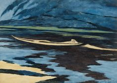 Léon Spilliaert - The Shipwreck (1926)