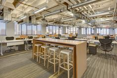 The New Zappos Downtown Las Vegas Headquarters  #office: office space, office design, office interiors