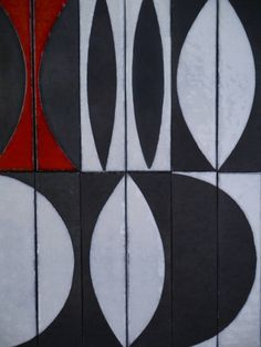 Ceramic Panel by Roger Capron, circa 1960 | From a unique collection of antique and modern decorative art at https://www.1stdibs.com/furniture/wall-decorations/decorative-art/