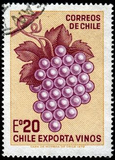 240 Best Chile Stamps Images